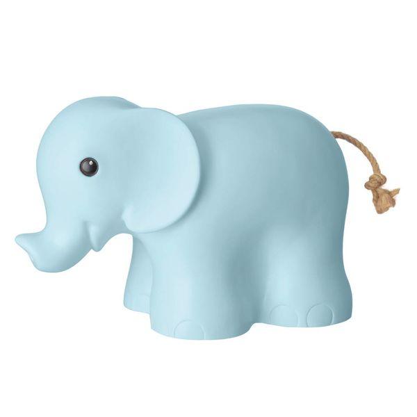 Heico figuurlampen Heico lamp olifant lichtblauw