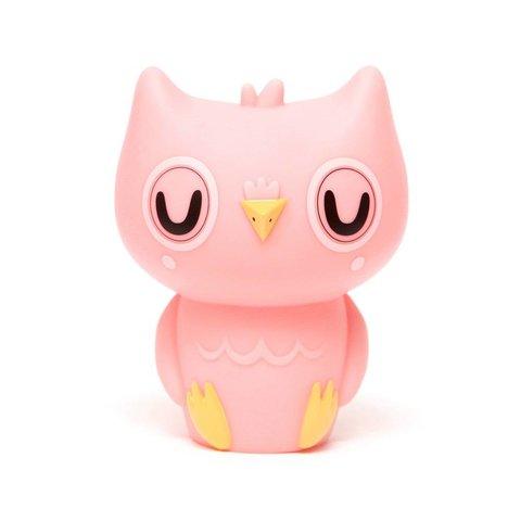 Petit Monkey nachtlampje uil roze peachy pink