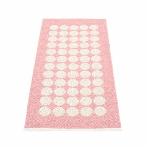 Pappelina plastic vloerkleed Fia roze