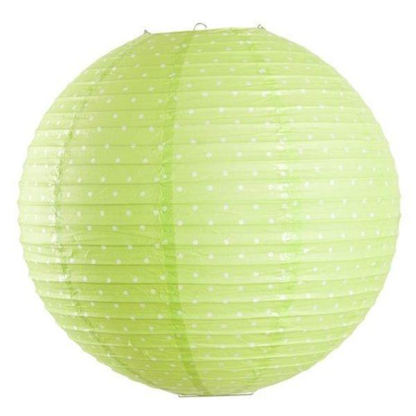 Farg & Form Zweden Farg & Form kinderlamp stippen groen
