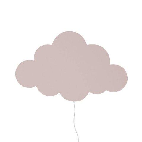 Ferm Living Kids wandlamp wolk roze Dusty Rose