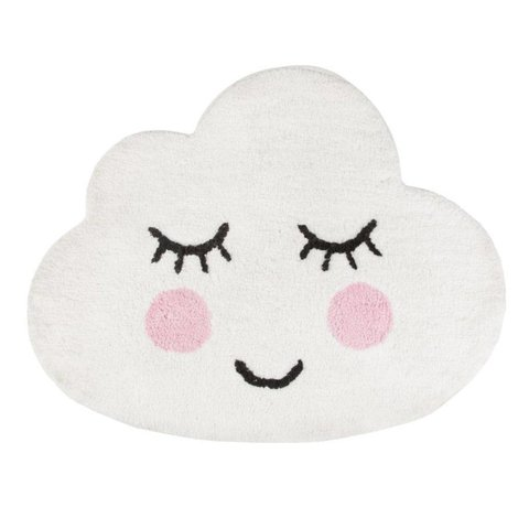 Kindervloerkleed wolk Smiling Cloud mini