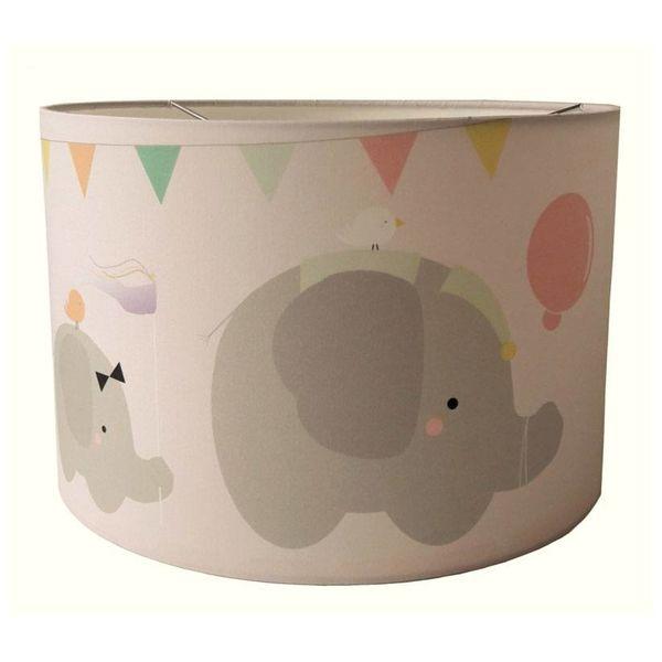 Designed4Kids Designed4Kids hanglamp babykamer olifanten parade roze