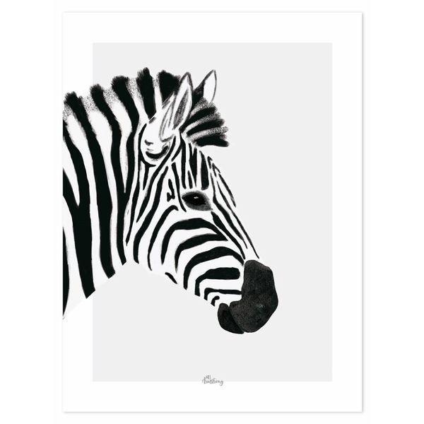 Lilipinso Lilipinso kinderposter Serengeti zebra