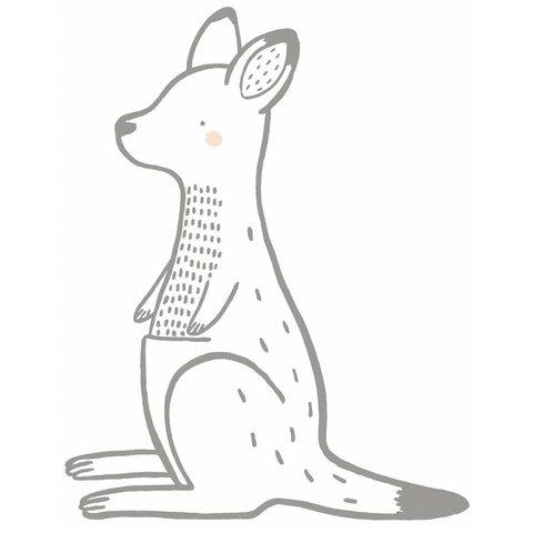 Lilipinso muursticker kangoeroe