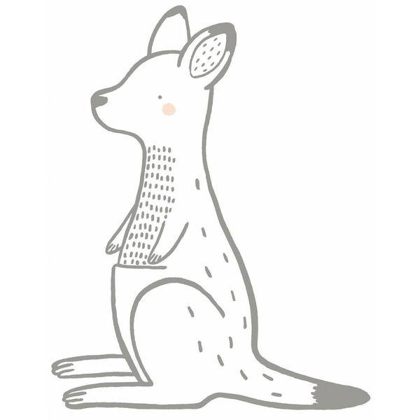 Lilipinso Lilipinso muursticker kinderkamer kangoeroe