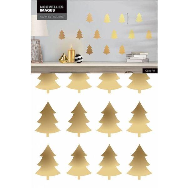 Nouvelles Images Nouvelles Images muurstickers kestbomen goud