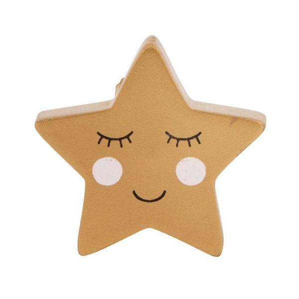 Sass & Belle Sass & Belle deurknopje ster Smiling Star