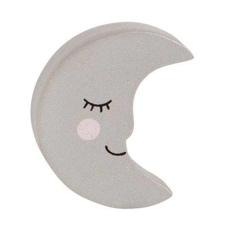 Sass & Belle deurknopje maan zilver