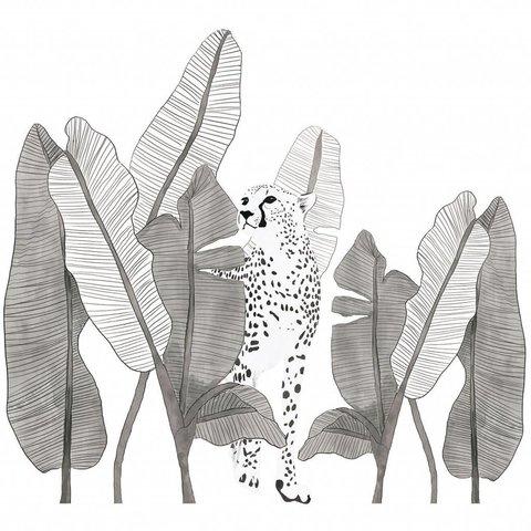 Lilipinso muursticker luipaard