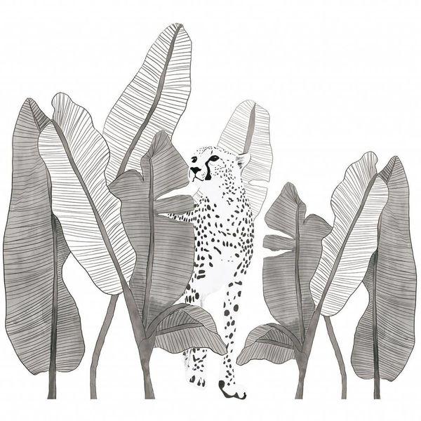 Lilipinso Lilipinso muursticker kinderkamer luipaard