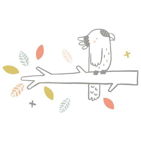 Lilipinso muursticker kakatoe
