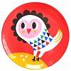 Petit Monkey melamine kinderbord uil rood