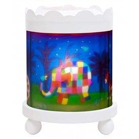 Trousselier Trousselier magische lamp  Elmer wit rond