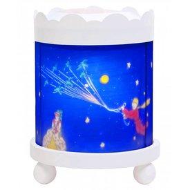 Trousselier Trousselier magische lamp de kleine prins rond wit