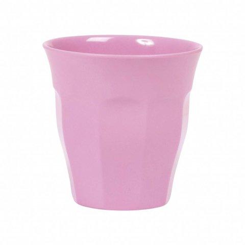Rice melamine beker roze dark pink