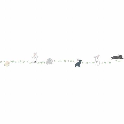 Mimilou muursticker konijntjes Frise Lapins