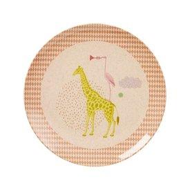 rice Denmark Rice kinderbord met dieren print meisje