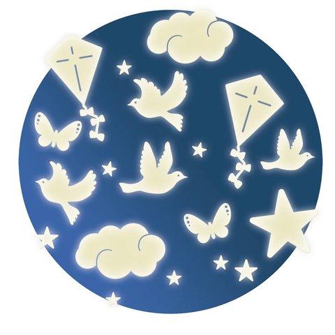 Djeco lichtgevende decoratie Dans le Ciel