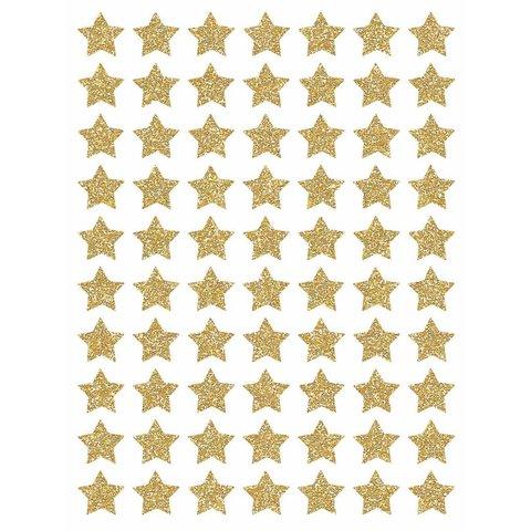 Lilipinso  muurstickers sterren mini  goud glitter