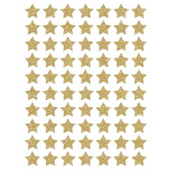 Lilipinso Lilipinso muurstickers kinderkamer sterren mini goud glitter