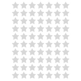 Lilipinso Lilipinso  muurstickers sterren mini  grijs