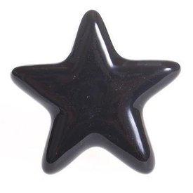 La Finesse La Finesse kastknopje ster zwart