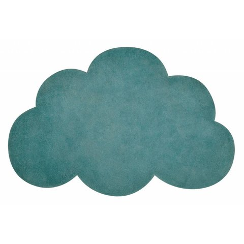 Lilipinso kindervloerkleed wolk jungle groen