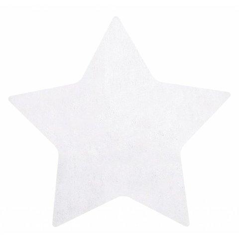 Lilipinso kindervloerkleed ster wit