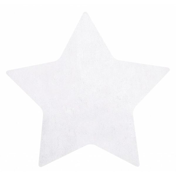 Lilipinso Lilipinso kindervloerkleed ster wit