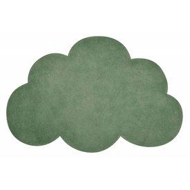 Lilipinso Lilipinso kindervloerkleed wolk groen kale green