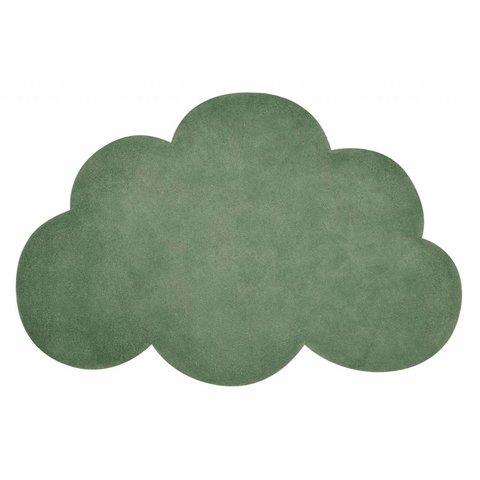 Lilipinso kindervloerkleed wolk groen kale green