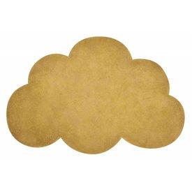 Lilipinso Lilipinso kindervloerkleed wolk mosterd geel