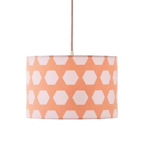 Kidsconcept kinderlamp Hexagon abrikoos