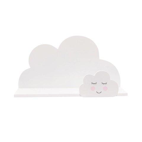 Sass & Belle wandplankje wolk wit
