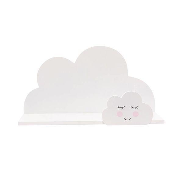 Sass & Belle Sass & Belle wandplankje wolk wit Sweet Dreams