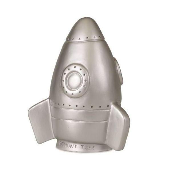 Heico figuurlampen Figuurlamp raket zilver