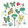 Djeco raamsticker vlinders papillons au jardin