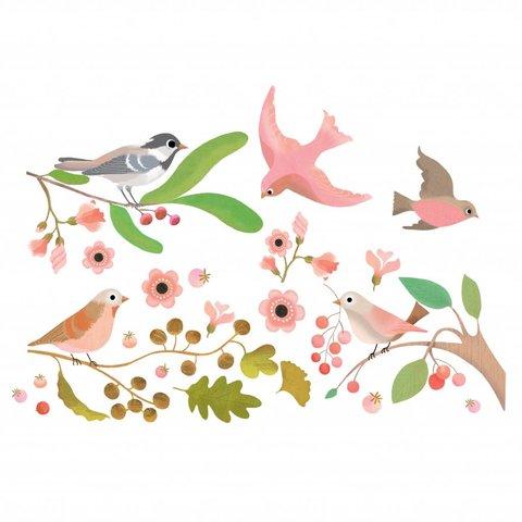 Djeco raamsticker vogels