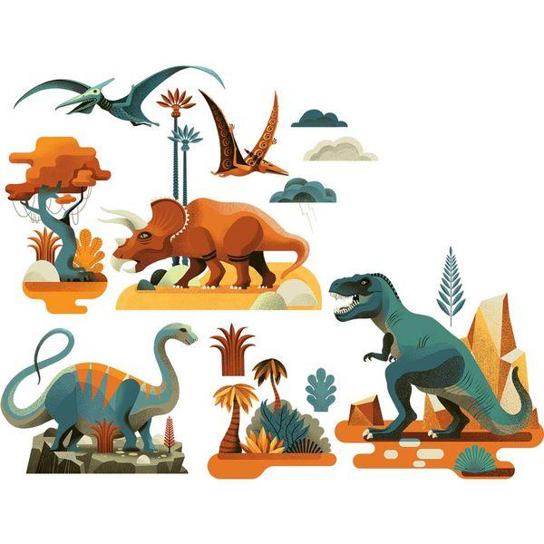 Djeco Djeco raamstickers dinosaurus
