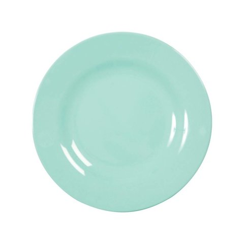 Rice melamine bord dark mint