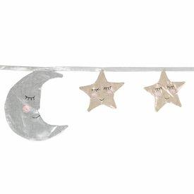 Sass & Belle Decoratie slinger maan en sterren