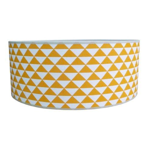 Juul Design plafonnière Triangles oker geel