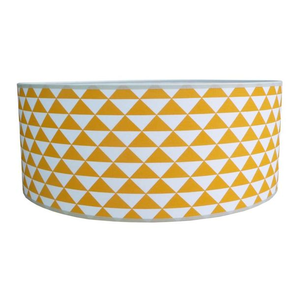 Juul Design Juul Design plafonniere kinderkamer Triangles oker geel