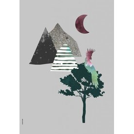 I Love My Type I Love My Type poster A3 Mountain Life kaketoe