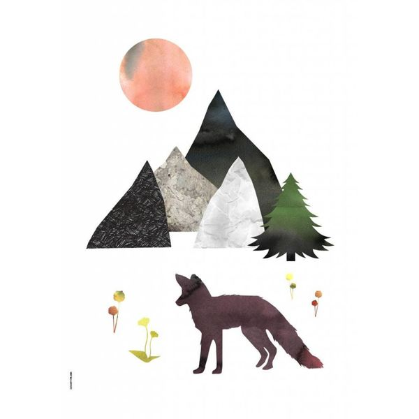 I Love My Type I Love My Type poster A3 Mountain Life vos