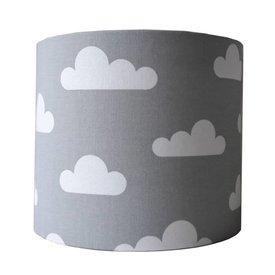 Designed4Kids Designed4kids wandlamp wolken grijs
