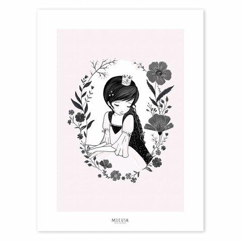 Lilipinso poster prinses en bloemen