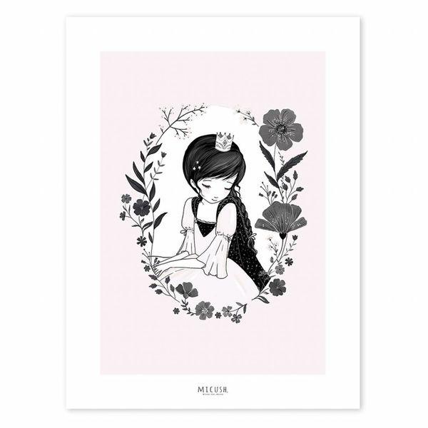 Lilipinso Lilipinso poster prinses en bloemen