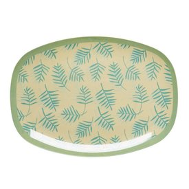 rice Denmark Rice melamine bord Palm Leaves print